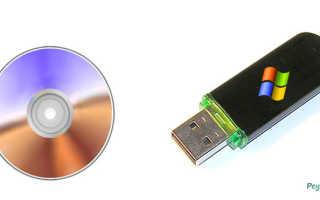 Как установить iso файл на флешку