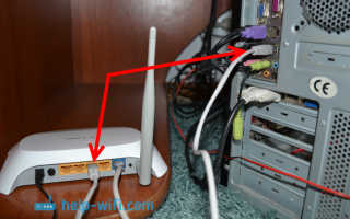 Провод для wifi роутера к компьютеру