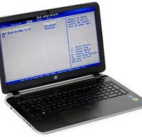 Клавиша биос на ноутбуке hp