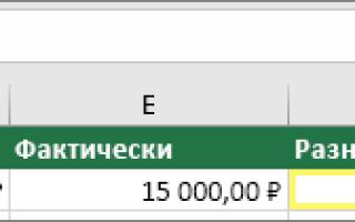 Excel введенное значение неверно