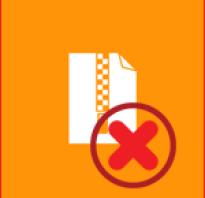 Почему происходит ошибка при распаковке файлов