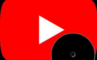 Останавливается видео на youtube